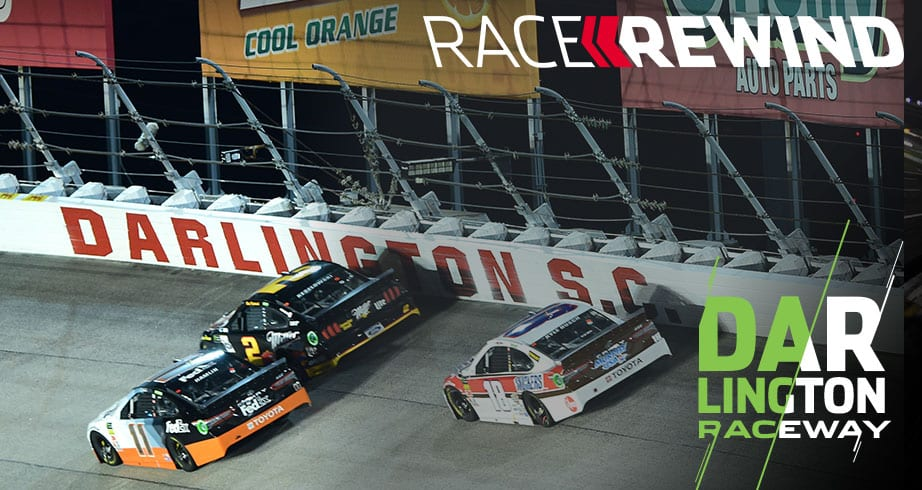 Race Rewind: After midnight, under the lights at Darlington – NASCAR