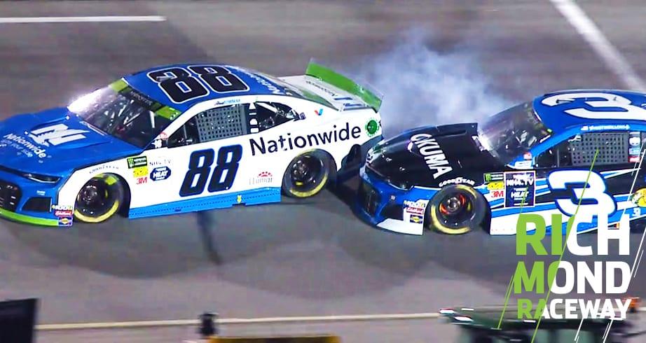 Richmond: Bowman gets hit from behind by Austin Dillon – NASCAR