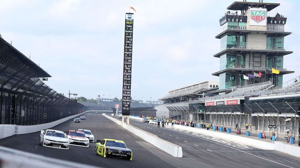 Saturday schedule for NASCAR at Indianapolis – NBC Sports – Misc.