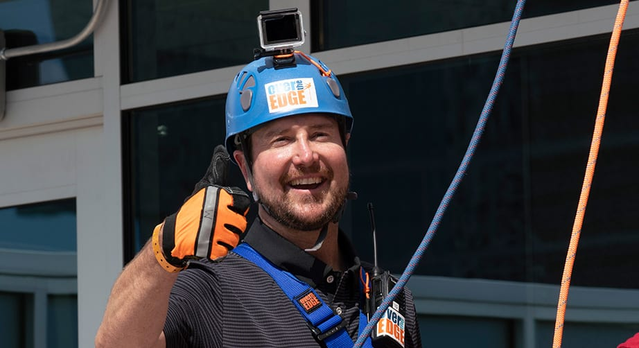 Second annual 'Over the Edge Charlotte' gives drivers reason to rappel – NASCAR