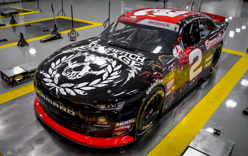 This Killswitch Engage NASCAR Car Reminds Me Of All The Band T-Shirts I've Misplaced Over The Years – Jalopnik