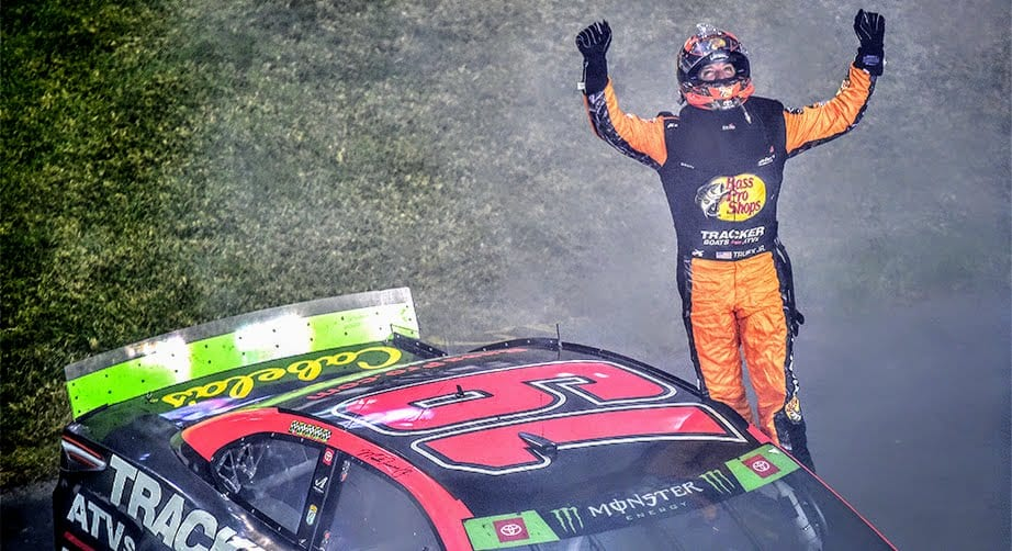 Truex leads JGR 1-2-3 sweep with playoff win at Richmond – NASCAR