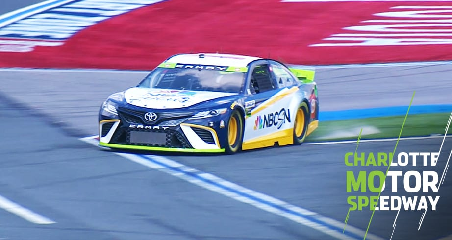 Burton takes wild ride through Roval in pace car – NASCAR