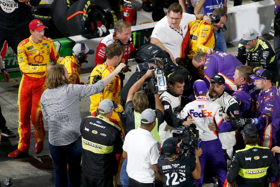Can't Anybody In NASCAR Fight Any More? – Forbes