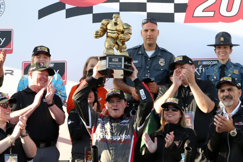 Custer wins at Dover, Round of 8 set – NASCAR