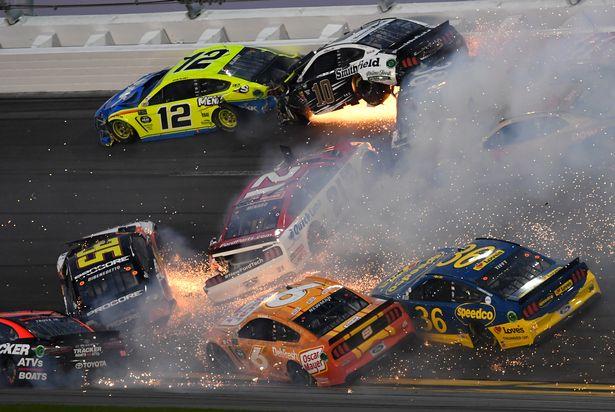 Daytona 500 horror crash as 21-car collision creates fireball during Nascar race – Mirror Online
