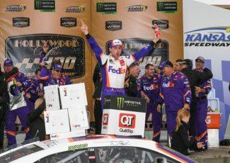 Denny Hamlin edges Chase Elliott as Brad Keselowski eliminated from NASCAR playoffs – USA TODAY