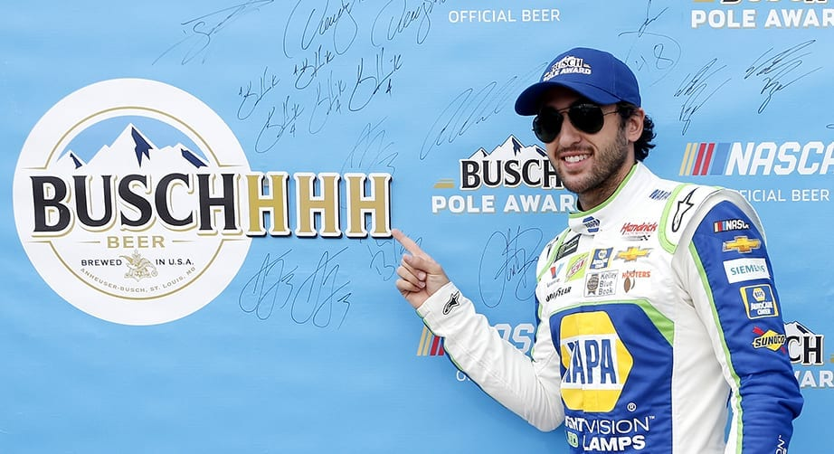 Elliott scores Busch Pole Award at Talladega as Hendrick sweeps top four – NASCAR