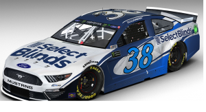 Front Row Motorsports announces new partnership with SelectBlinds.com – NASCAR
