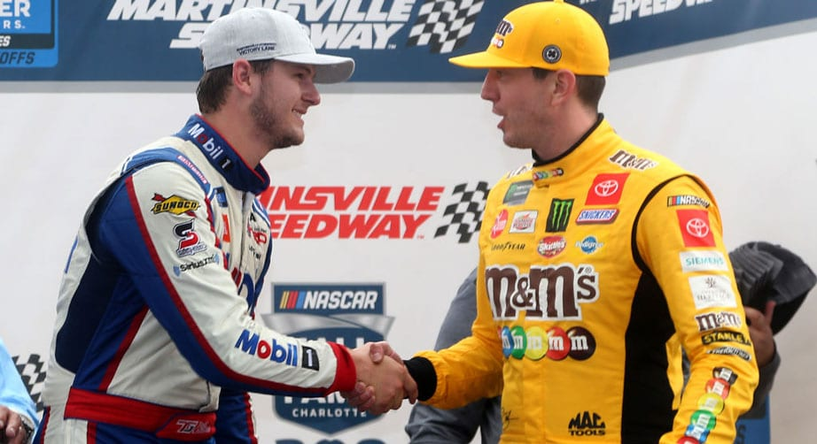 Gilliland grills Kyle Busch in heat of the moment after Martinsville win – NASCAR