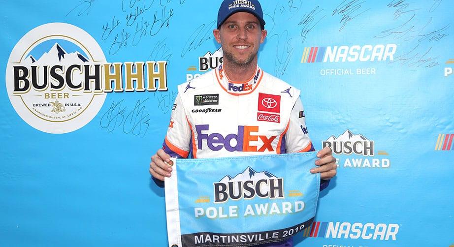 Hamlin confirmed as pole position winner at Martinsville – NASCAR