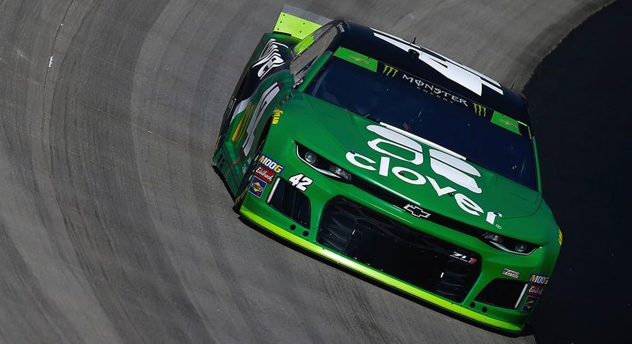 Kyle Larson's No. 42 car passes post-race Dover inspection – NASCAR