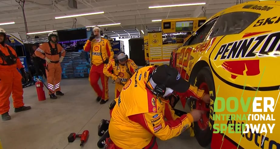 Logano takes No. 22 to garage before green flag at Dover – NASCAR