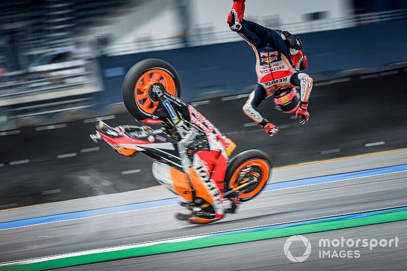 Marquez escapes injury after Thailand crash – Motorsport.com