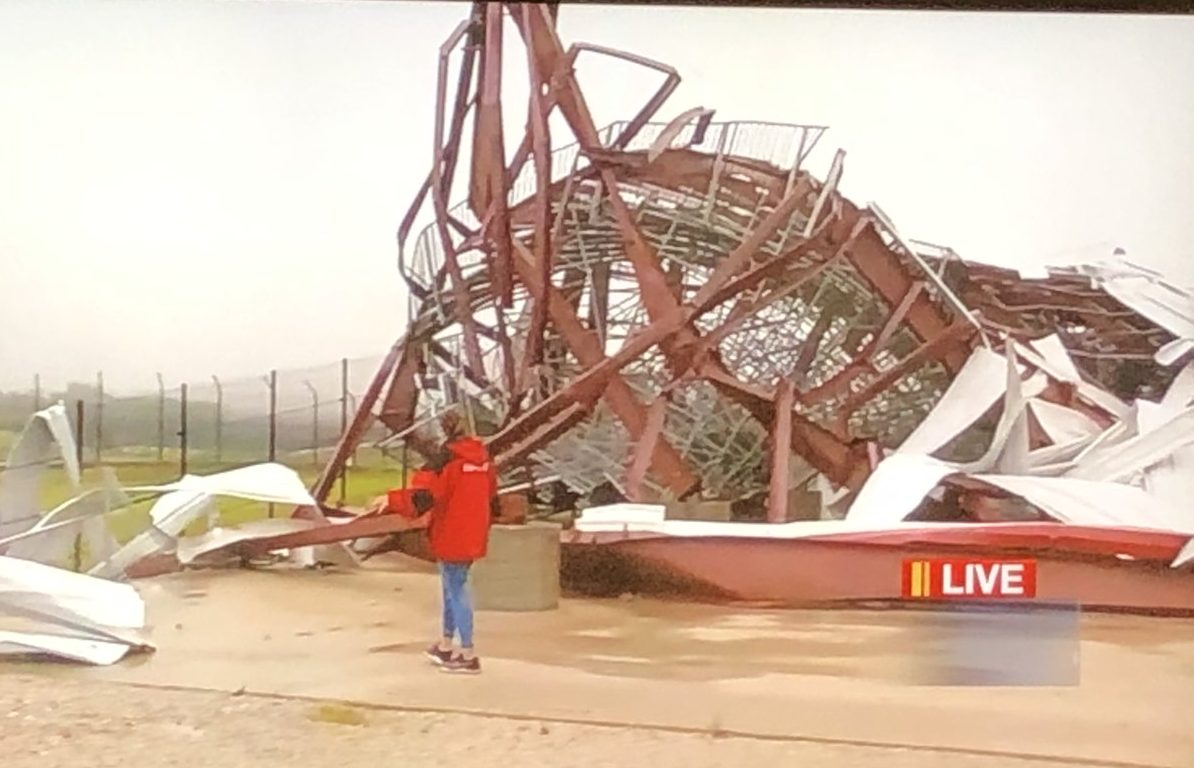 Missouri's Lucas Oil Speedway heavily damaged by possible tornado – NBC Sports