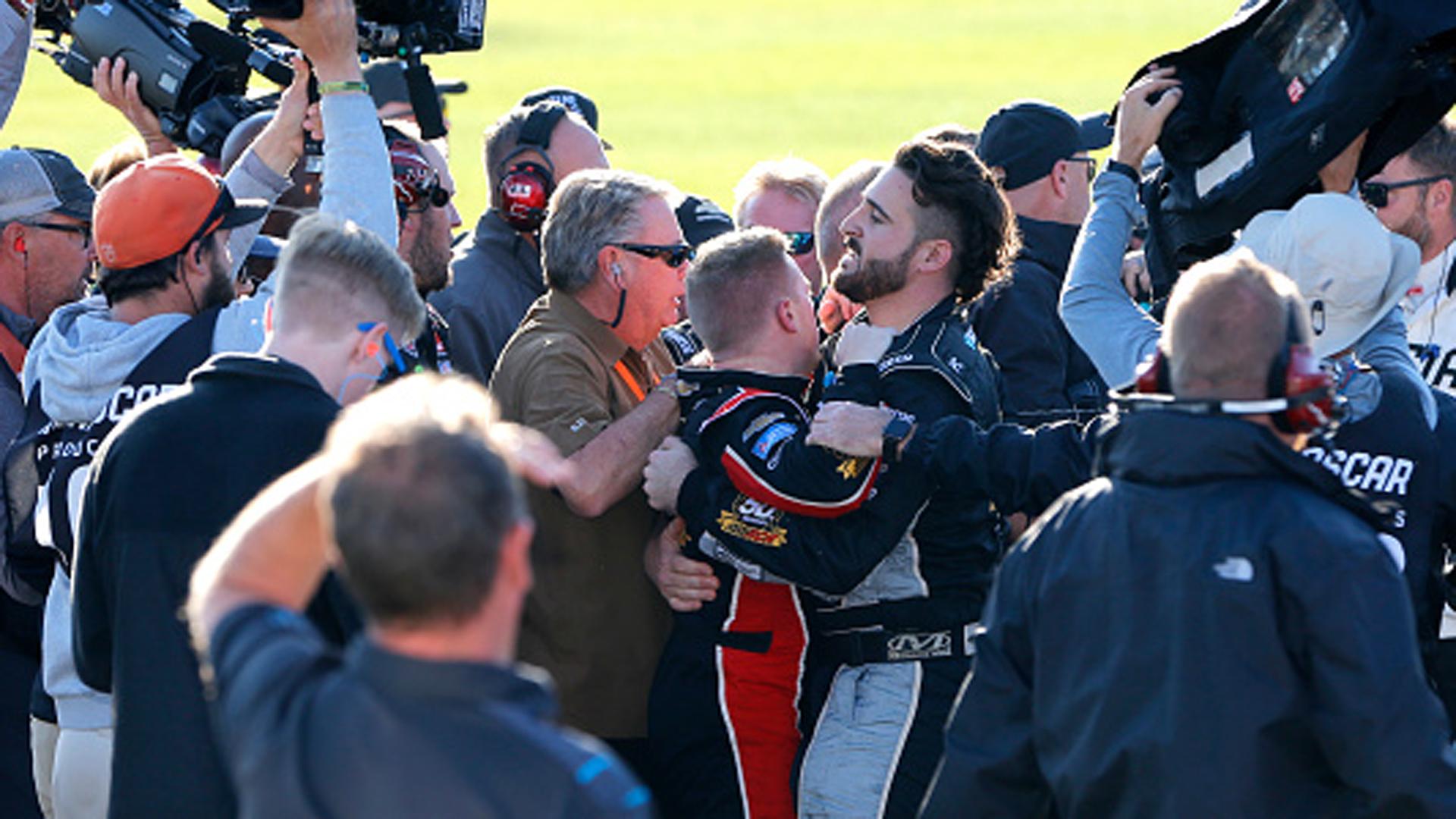 Must See: Custer, Reddick get physical after NASCAR Xfinity race – TSN