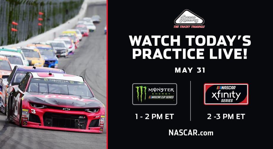 NASCAR.com to live stream from Pocono on Friday – NASCAR