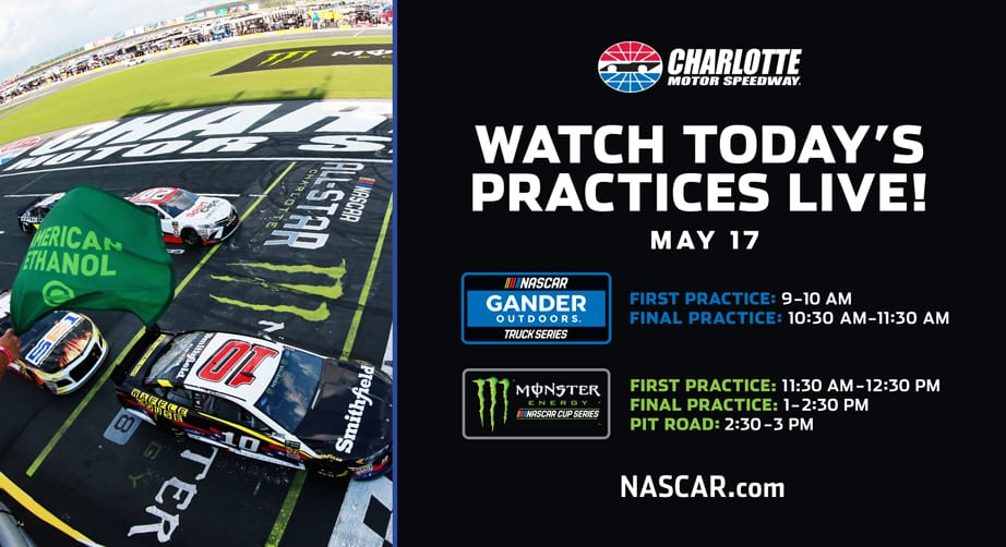 NASCAR.com to live-stream six events from Charlotte All-Star Race weekend – NASCAR