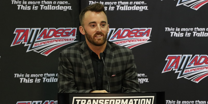 NASCAR driver Austin Dillon touts Talladega 'Transformation' — 'Means a lot' to update facilities to compete with other sports – Yellowhammer News