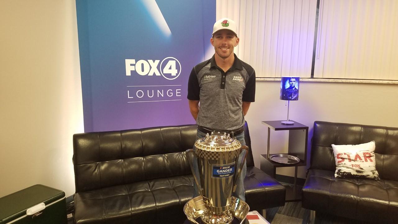 NASCAR driver Ross Chastain visits Fox 4 – Fox 4