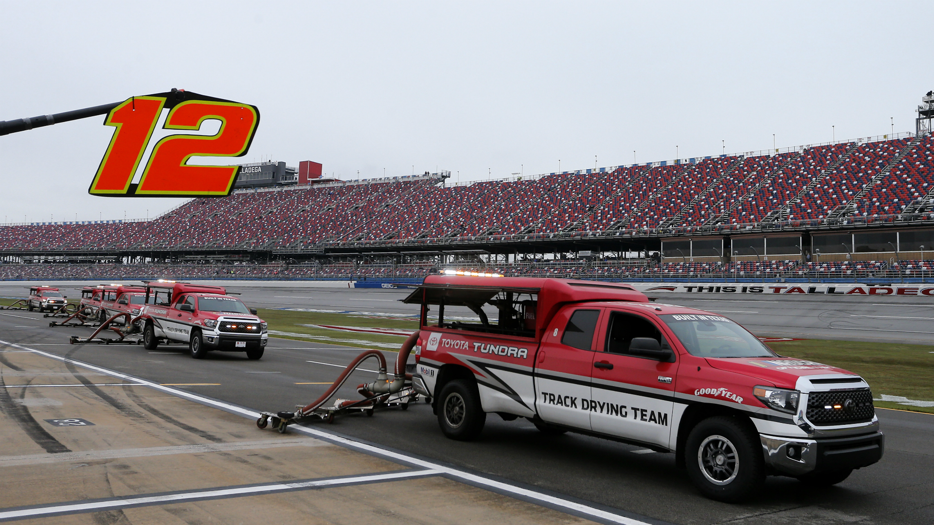 NASCAR weather update: Race at Talladega to restart Monday after rain delay – Sporting News