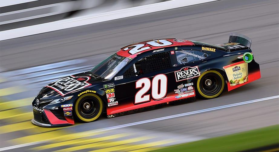 Penalty report: JGR No. 20 team docked for lug-nut violation at Kansas – NASCAR