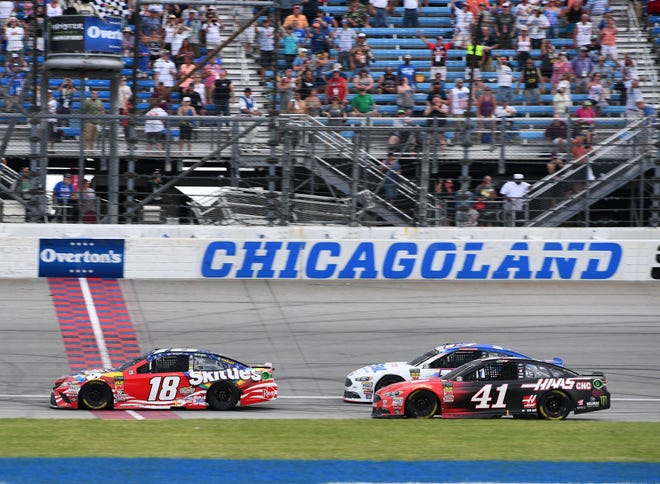 What time does the 2019 NASCAR Cup race at Chicagoland start – USA TODAY