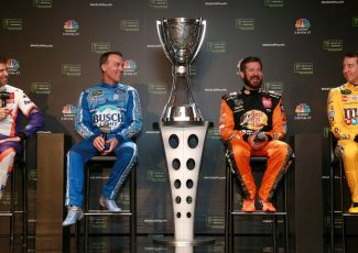 Big 3, New 1: Contenders open title weekend with banter, no barbs – NASCAR