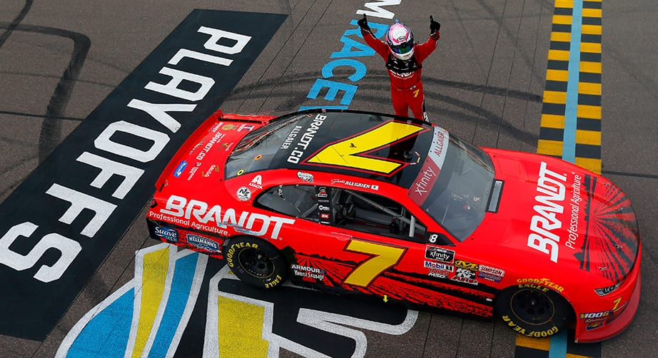 Justin Allgaier charges into Championship 4 with Xfinity win at Phoenix – NASCAR