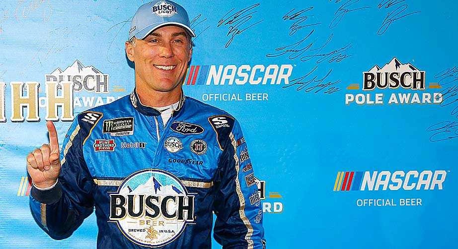 Kevin Harvick soars to sixth Busch Pole of the season in Texas qualifying – NASCAR
