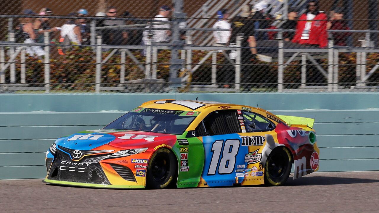 Kyle Busch leads Gibbs trio to win 2nd NASCAR championship – Fox News