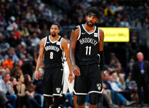 Nets' Kyrie Irving out with shoulder injury vs Chicago – Your Valley