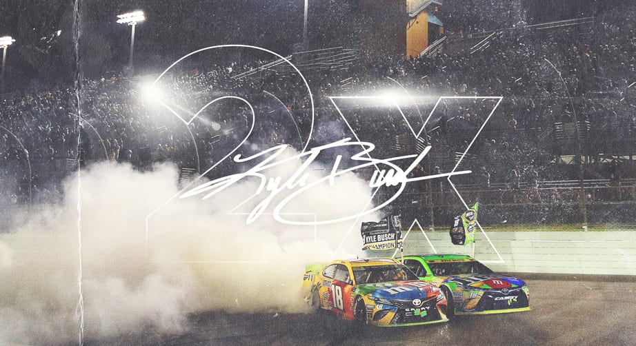 Analysis: Comparing Kyle Busch's two championships – NASCAR