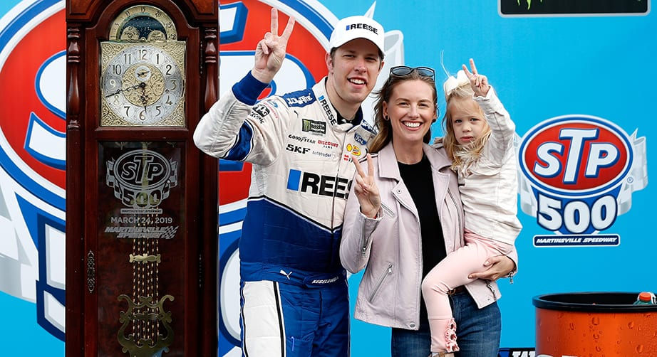 Brad Keselowski announces birth of second daughter – NASCAR
