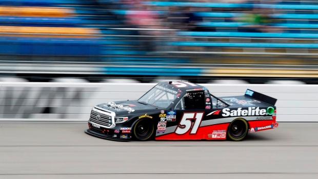 Chastain takes NASCAR Truck race at Iowa Speedway – TSN