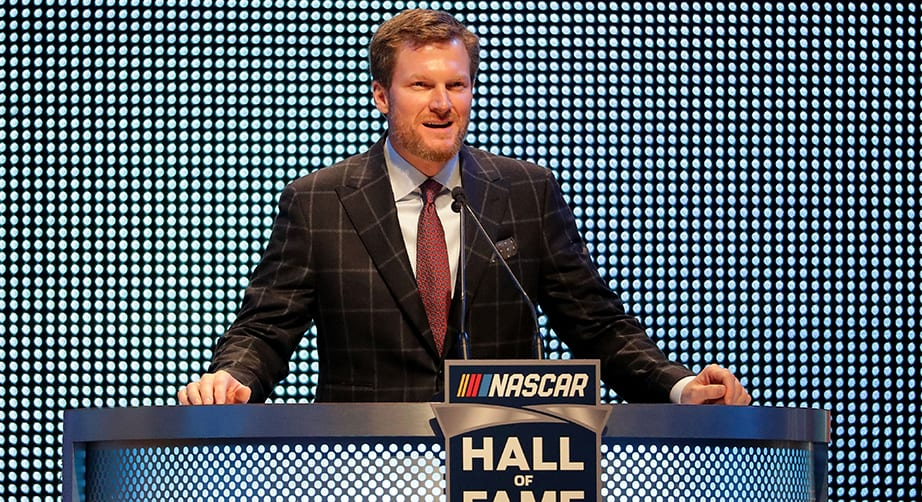 Dale Earnhardt Jr. revealed as guest curator for NASCAR Hall of Fame Glory Road exhibit – NASCAR