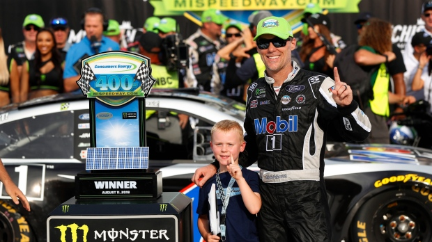 Kevin Harvick wins NASCAR Cup race at Michigan – CTV News
