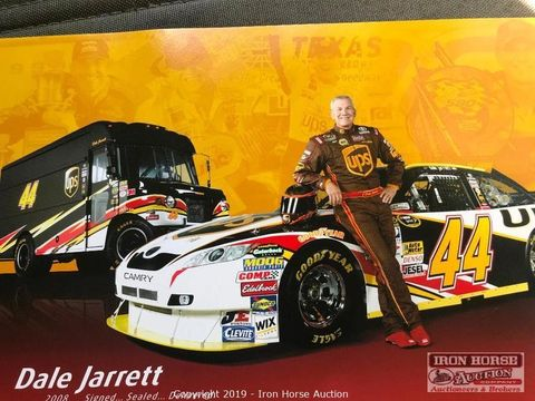 NASCAR UPS Truck of Race the Truck Commercial Pulled from Auction – Car and Driver