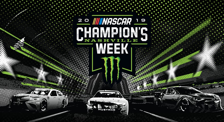 Nashville becomes 'NASCAR City' for Champion's Week – NASCAR