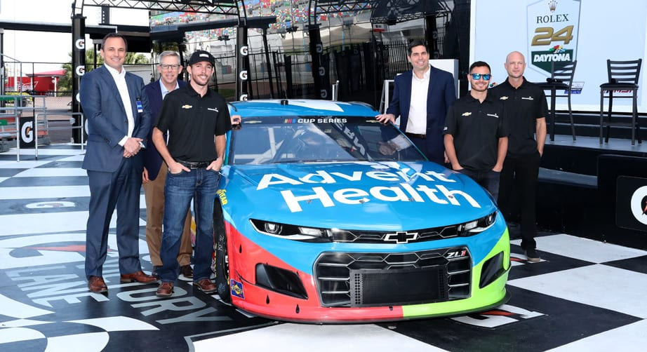 AdventHealth grows partnership with Chip Ganassi Racing and Kyle Larson – NASCAR