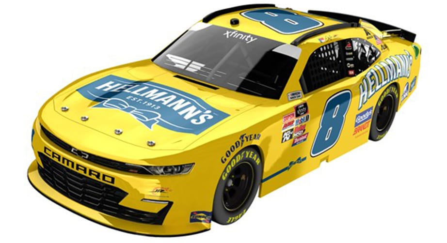 Dale Jr. paint scheme for Xfinity Series race at Homestead – NASCAR