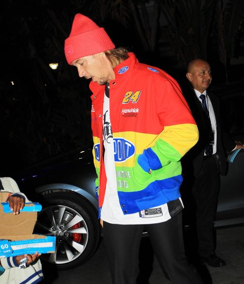 Diplo Wore a Vintage Nascar Jacket in Los Angeles on Christmas – Esquire