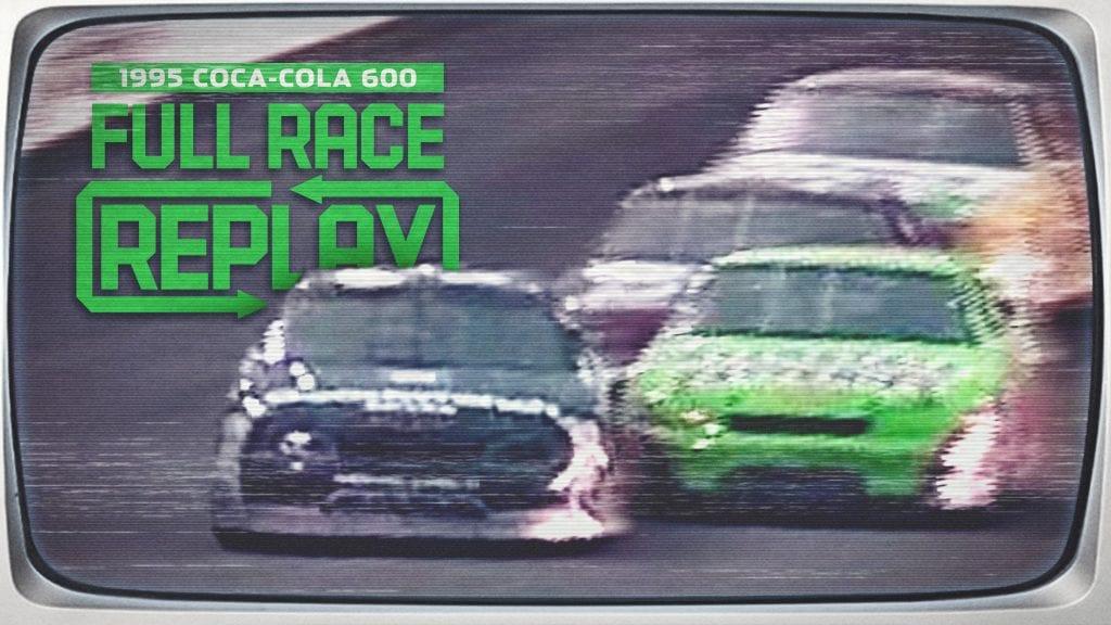 Full Race Replay: Bobby Labonte wins 1995 Coca-Cola 600 – NASCAR