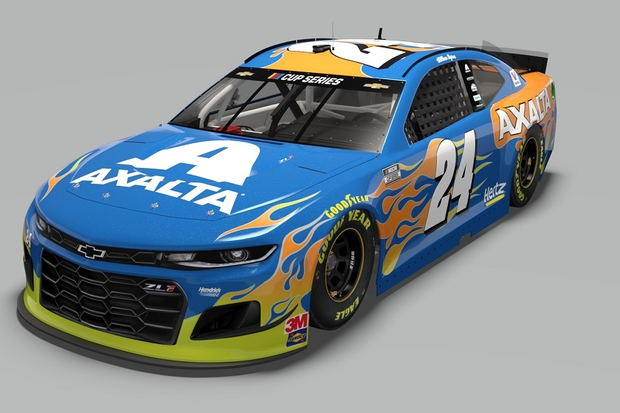 Hendrick Motorsports' William Byron to Drive Axalta Sea Glass No. 24 Chevy at Daytona 500 – Coatings World Magazine