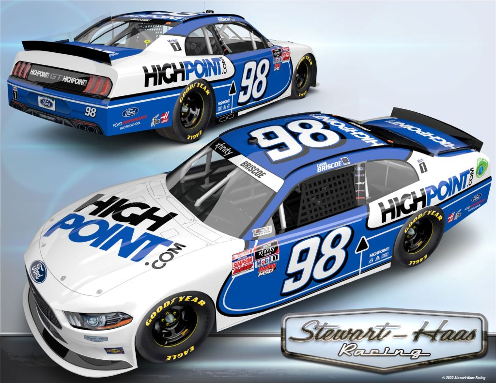 HighPoint to sponsor Chase Briscoe in multiple Xfinity Series races – NBC Sports – Misc.