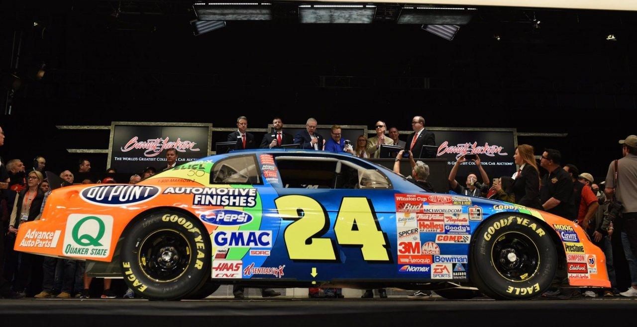 Jeff Gordon: First NASCAR road course winning car sold – Racing News