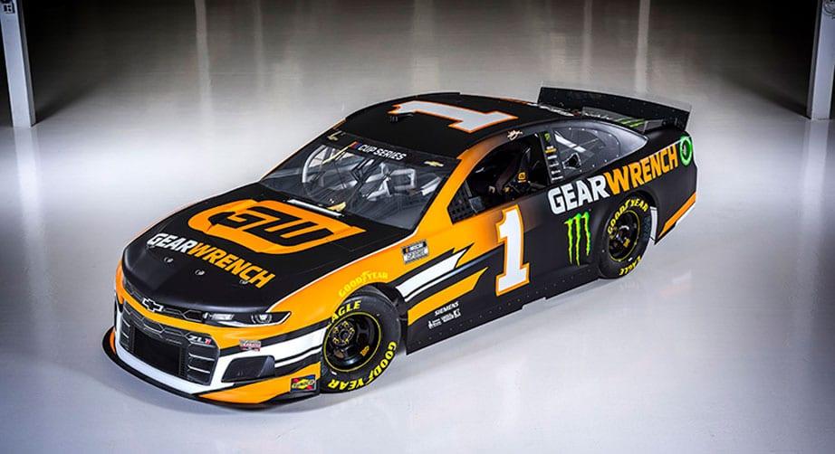 Kurt Busch reveals GearWrench paint scheme for 2020 – NASCAR