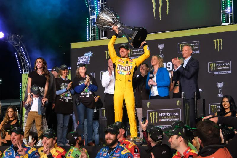 Kyle Busch wins second NASCAR Cup title at Homestead-Miami Speedway – UPI News