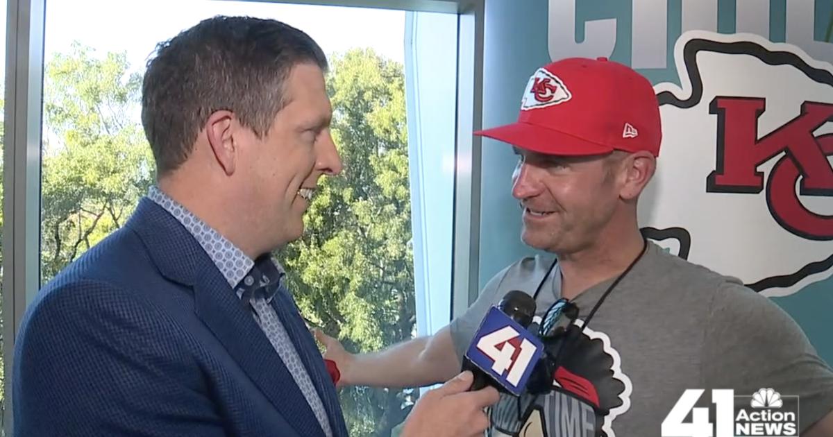 NASCAR driver, Chiefs fan Clint Bowyer talks Super Bowl – KSHB