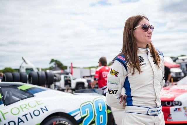 NASCAR Next grad Julia Landauer to race full-time in NASCAR Euro Series – Yahoo Sports